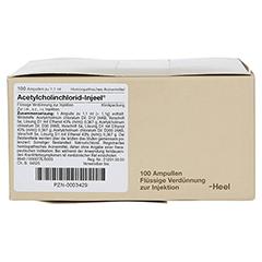 ACETYLCHOLINCHLORID Injeel Ampullen 100 Stück N3 - Linke Seite