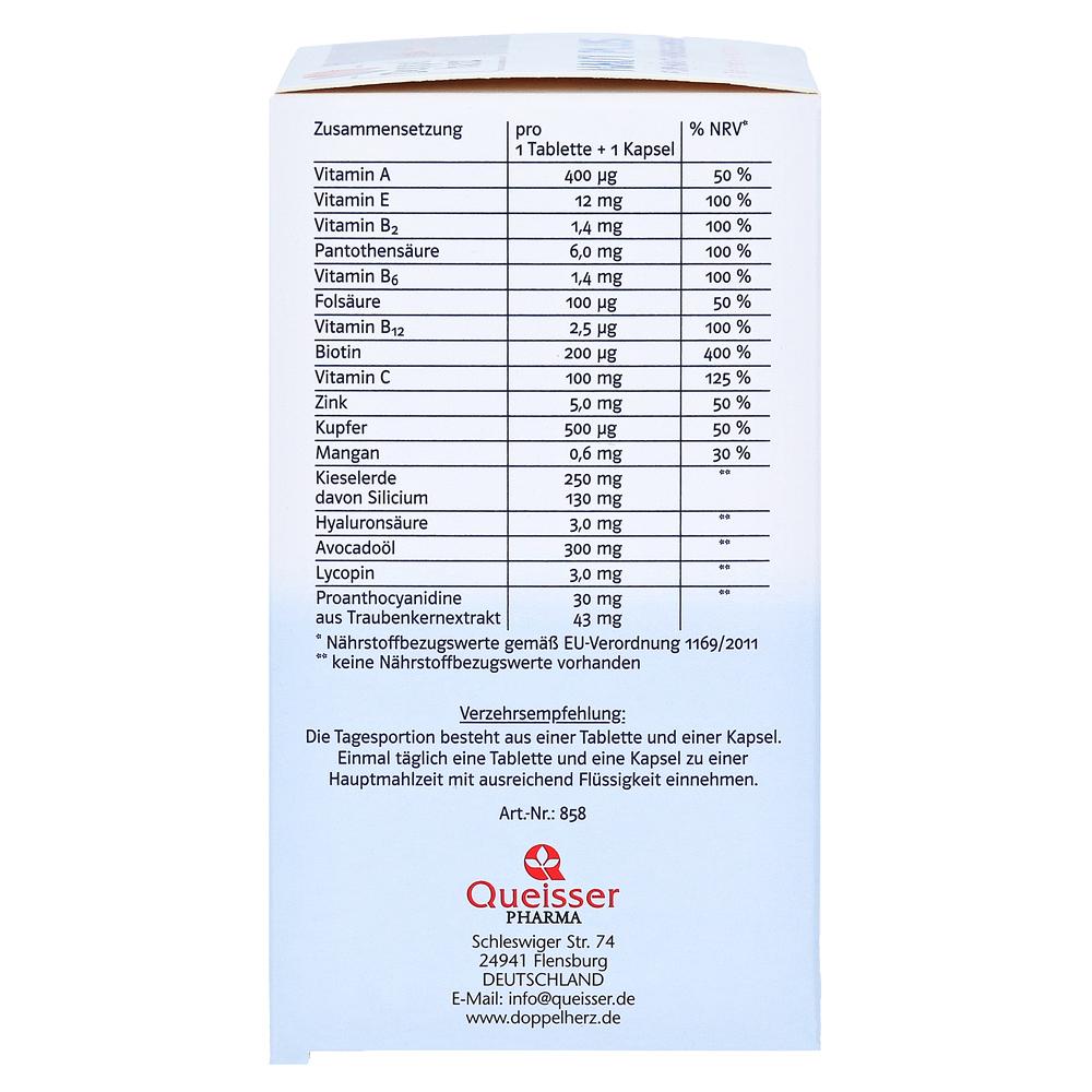DOPPELHERZ Haut Plus system Tabletten+Kapseln 60 Stück online ...