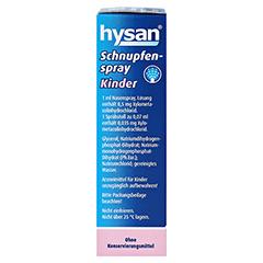 HYSAN Schnupfenspray Kinder 0,5mg/ml 10 Milliliter N1 - Linke Seite