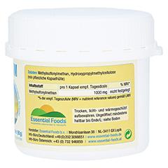 MSM 1000 mg Kapseln 80 Stück - Linke Seite