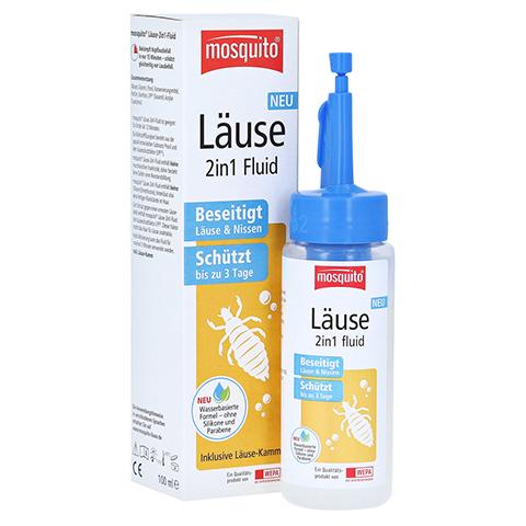 MOSQUITO Läuse 2in1 Fluid 100 Milliliter