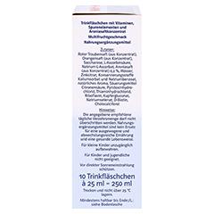 DOPPELHERZ Immun+Aronia system Ampullen 10 Stück - Rechte Seite