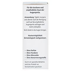 Hyaluron Augenpflege Creme 15 Milliliter - Rechte Seite