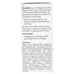 RUGARD Urea 10% Repair Gesichtspflege Creme 50 Milliliter - Rechte Seite