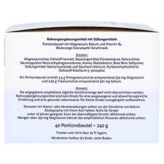 DOPPELHERZ Magnesium+Kalium Citrat system Granulat 40 Stück - Rechte Seite