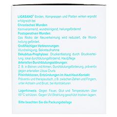 LIGASANO weiß Wundband 0,4x1,5x100 cm mini steril 7 Stück - Rechte Seite