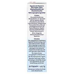 DOPPELHERZ Glucosamin Plus 800 system Kapseln 30 Stück - Rechte Seite
