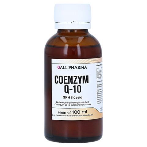 COENZYM Q10 GPH flüssig 100 Milliliter