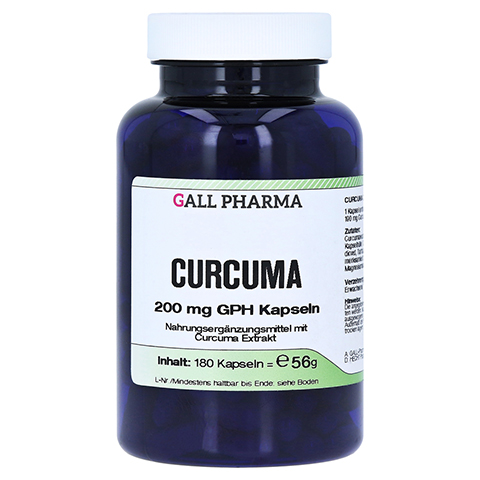 CURCUMA 200 mg Kapseln 180 Stück
