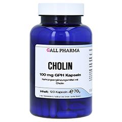 CHOLIN 100 mg GPH Kapseln 120 Stück
