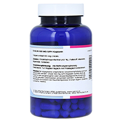 CHOLIN 100 mg GPH Kapseln 120 Stück - Linke Seite