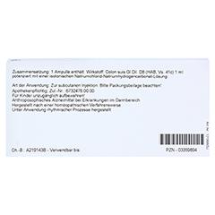 COLON GL D 8 Ampullen 10x1 Milliliter N1 - Rückseite