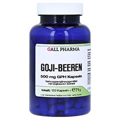 GOJI BEEREN 500 mg GPH Kapseln 120 Stück
