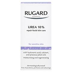 RUGARD Urea 10% Repair Gesichtspflege Creme 50 Milliliter - Rückseite