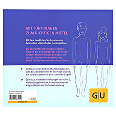 GU Quickfinder Homöopathie für Kinder 1 Stück - Rückseite
