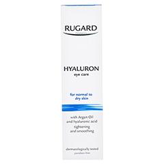 RUGARD Hyaluron Augenpflege 15 Milliliter - Rückseite