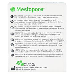 MESTOPORE Stomaverband 665000 20 Stück - Rückseite