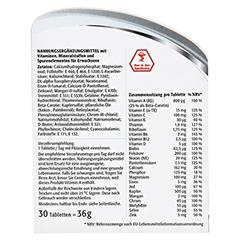 CENTRUM A-Z+Lutein Tabletten 30 Stück - Rückseite