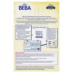 NESTLE BEBA Comfort Spezialnahrung Pulver 2x300 Gramm - Rückseite