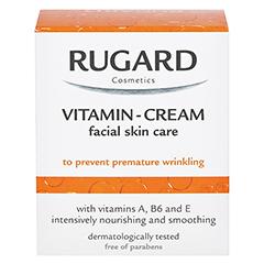 RUGARD Vitamin Creme Gesichtspflege 50 Milliliter - Rückseite