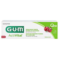 GUM ActiVital Zahnpasta 75 Milliliter - Rückseite
