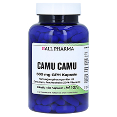 CAMU CAMU 500 mg GPH Kapseln 180 Stück