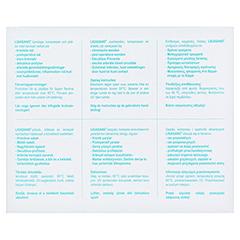 LIGASANO weiß Wundband 0,4x1,5x100 cm mini steril 7 Stück - Rückseite
