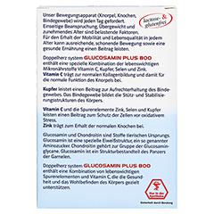 DOPPELHERZ Glucosamin Plus 800 system Kapseln 30 Stück - Rückseite