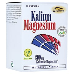 Kalium Magnesium Kapseln 90 Stück