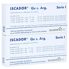 ISCADOR Qu c.Arg Serie I Injektionslösung 14x1 Milliliter N2