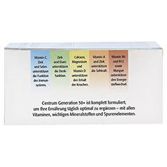 CENTRUM Gen.50+ A-Zink+FloraGlo Lutein Caplette 100 Stück - Oberseite
