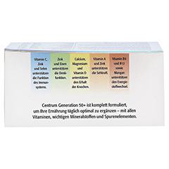 CENTRUM Generation 50+ Lutein Capletten 100 Stück - Oberseite