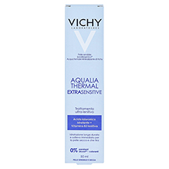 VICHY AQUALIA Thermal extra sensitive Creme 50 Milliliter - Rückseite