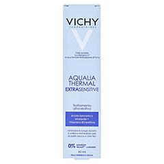 VICHY AQUALIA Thermal extra sensitive Creme 50 Milliliter - Rückseite