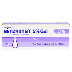 BENZAKNEN 5% Gel 100 Gramm N3 - Vorderseite