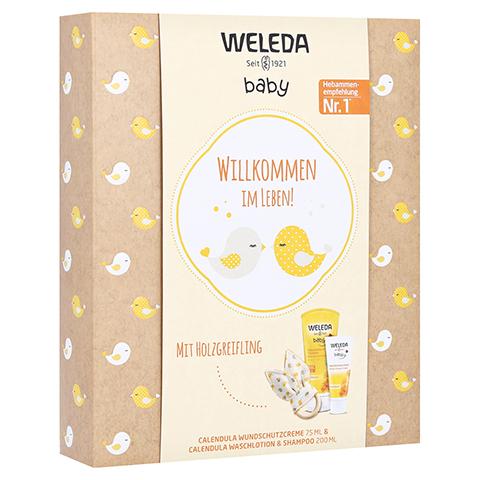 WELEDA Geschenkset Babypflege 2021 275 Milliliter