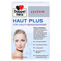 Doppelherz system Haut Plus für Haut + Bindegewebe 60 Stück - Vorderseite
