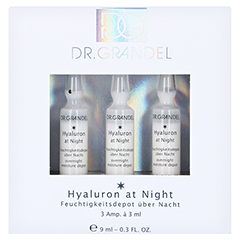 GRANDEL Professional Collection Hyaluron at night 3x3 Milliliter - Vorderseite