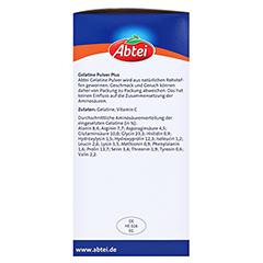 ABTEI Gelatine Plus Vitamin C Pulver 400 Gramm - Rechte Seite