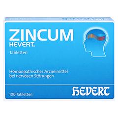 ZINCUM HEVERT Tabletten 100 Stück - Vorderseite