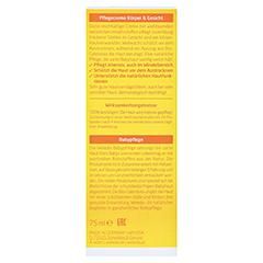 WELEDA Calendula Pflegecreme Körper & Gesicht 75 Milliliter - Rückseite