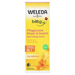 WELEDA Calendula Pflegecreme Körper & Gesicht 75 Milliliter - Vorderseite