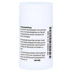 KOCHSALZ 1000 mg Tabletten mit Bruchkerbe Caelo HV 110 Stück - Rechte Seite