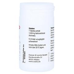 KOCHSALZ 1000 mg Tabletten mit Bruchkerbe Caelo HV 110 Stück - Linke Seite