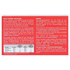 ARTERIN Cholesterin Tabletten 30 Stück - Rückseite