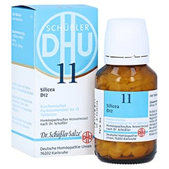 BIOCHEMIE DHU 11 Silicea D 12 Tabletten 200 Stück N2