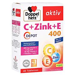 Doppelherz aktiv C + Zink + E 400 Depot 40 Stück