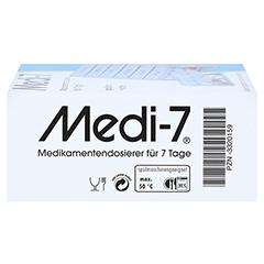 MEDI 7 Medikamentendos.f.7 Tage blau 1 Stück - Rechte Seite