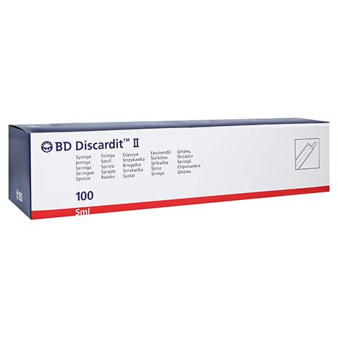 BD Discardit II Spritze 5 ml 100x5 Milliliter