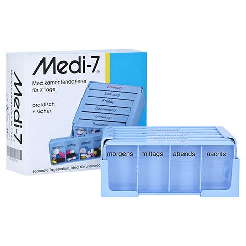 MEDI 7 Medikamentendos.f.7 Tage blau 1 Stück